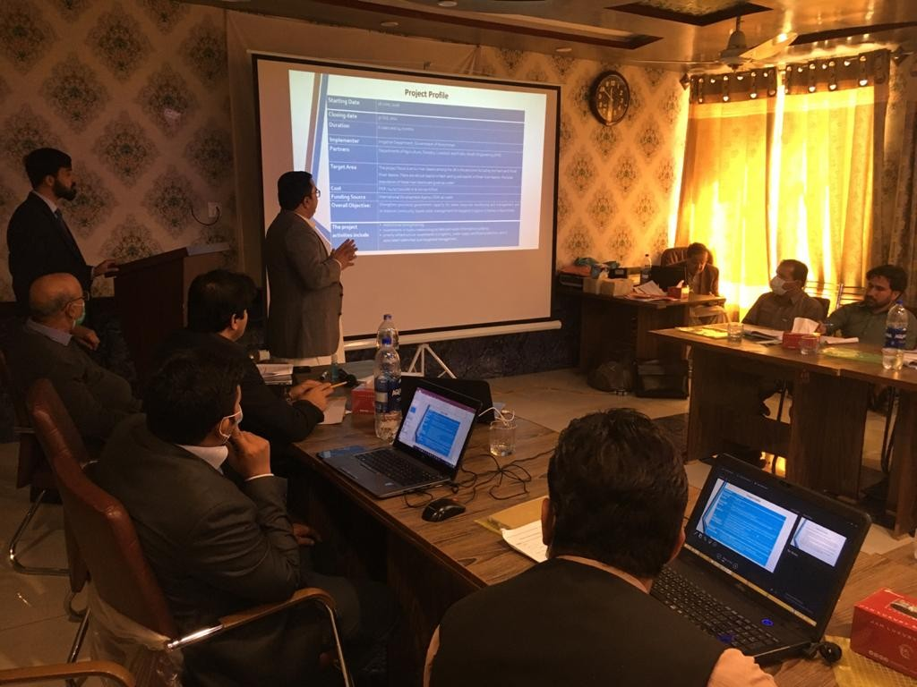 Training Session | Baluchistan Integrated Water Resources Management and Development Project